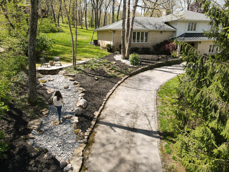 Rock Landscaping ideas and pricing for rock creek