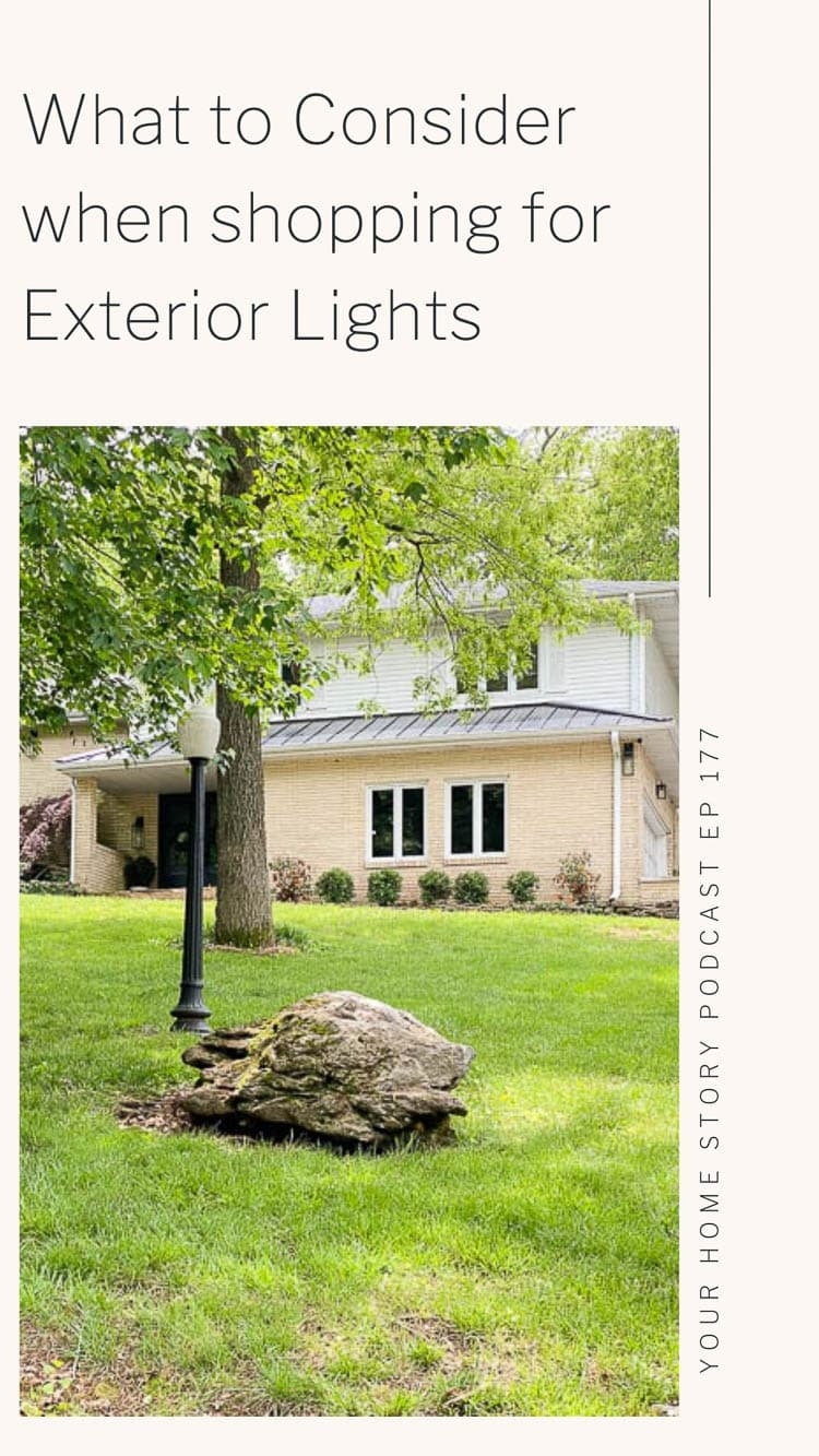 Exterior lights - what to consider for exterior lighting and what dark sky lighting is