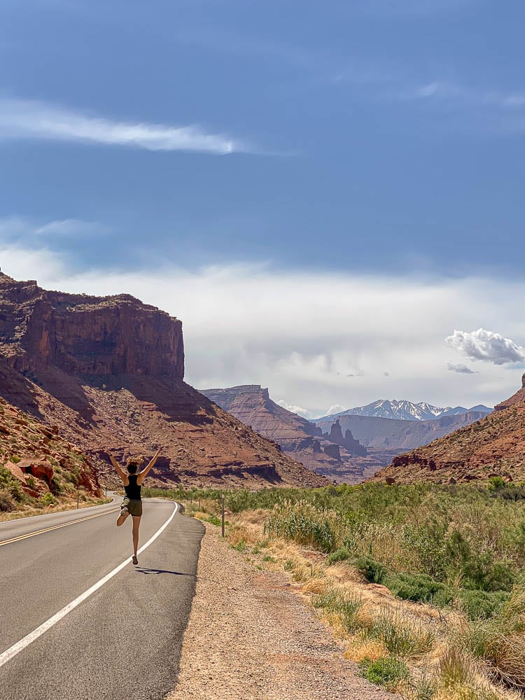Scenic Highway 128 from Denver to Moab