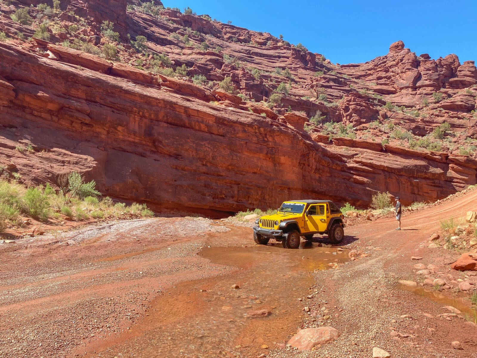 Onion Creek Trail in Moab