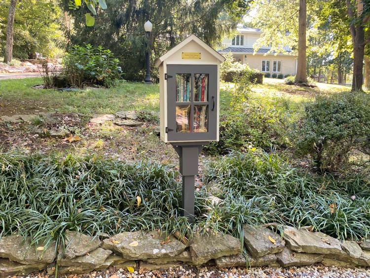 neighborhood library box