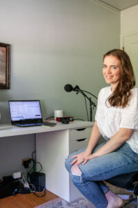 podcast host Suzannah Stanley